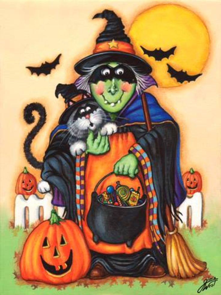 346 Best Halloween Tole Painting Images On Pinterest