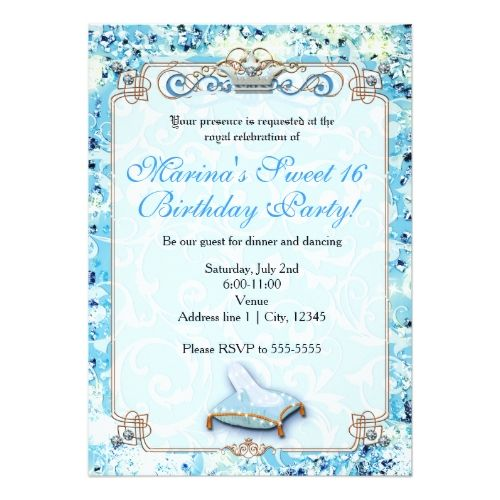 25 Best Ideas About Cinderella Sweet 16 On Pinterest Invitations