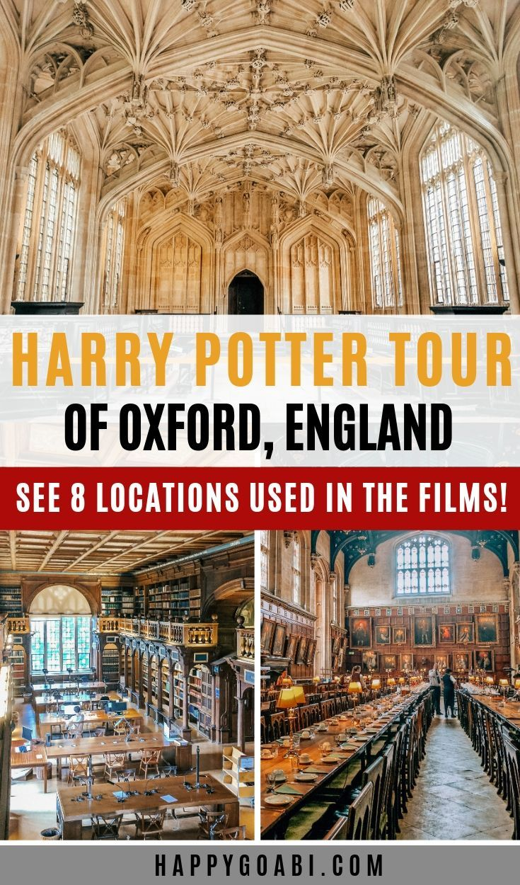 How To Go On The Perfect Oxford Harry Potter Tour Oxford Harry Potter Harry Potter Tour Harry Potter Filming Locations