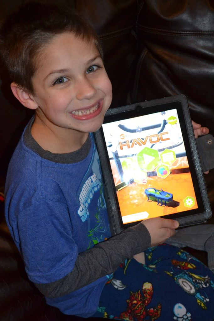 Hexbug Havoc Now Available in the App Store for FREE!!! Check it out TODAY! Fun for the kids!!!