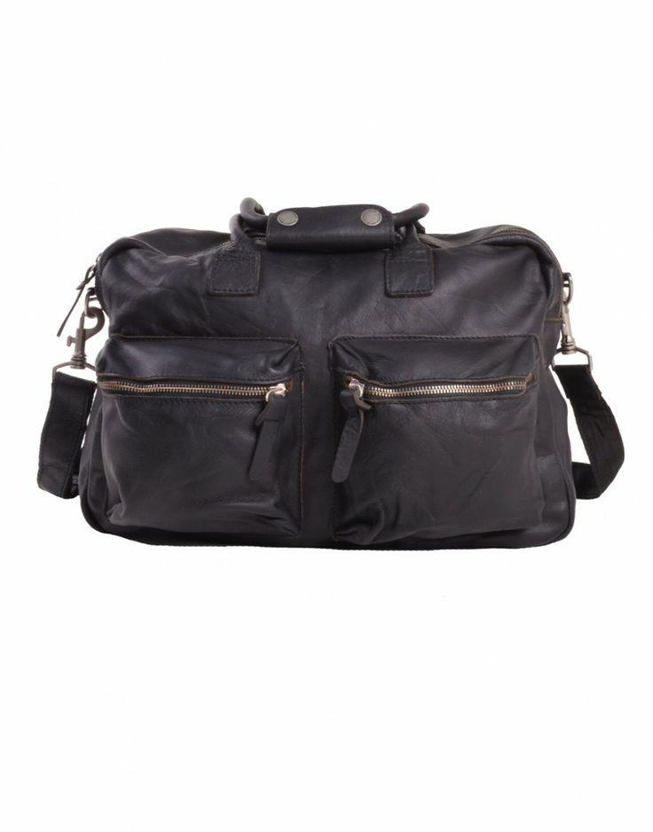#bag #cuir #black #leather #sac #fashion #menswear