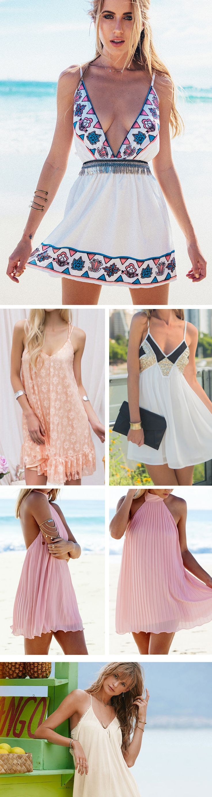 Gorgeous Sleeveless Dress,Stylish Tends !