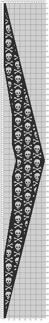 Ravelry: Swing-Skulls pattern by Tina13
