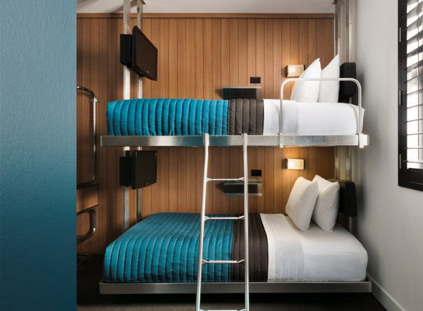 Maybe out next visit to Jersey we can pop in for a night or two for sight seeing and to catch a play w/o paying $350/night for the same size room! Pod 39 hotel in New York | Photo Gallery - Yahoo! Travel