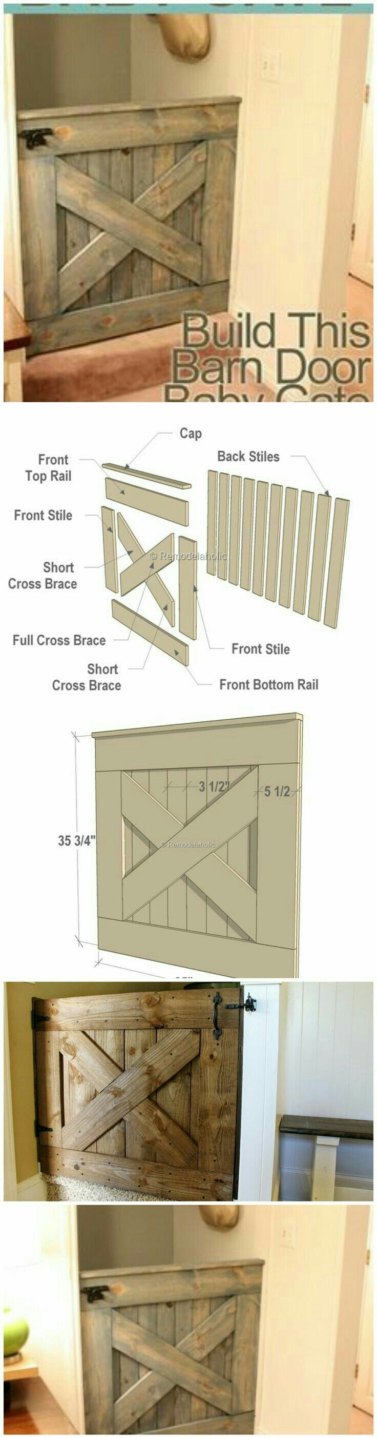 "Half Door, Baby Gate.  ""Pallet Projects"""