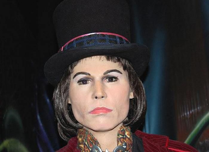 Willy Wonka  The 18 Most Bizarre And Scary Celebrity Waxworks You'll Ever See • Page 4 of 5 • BoredBug