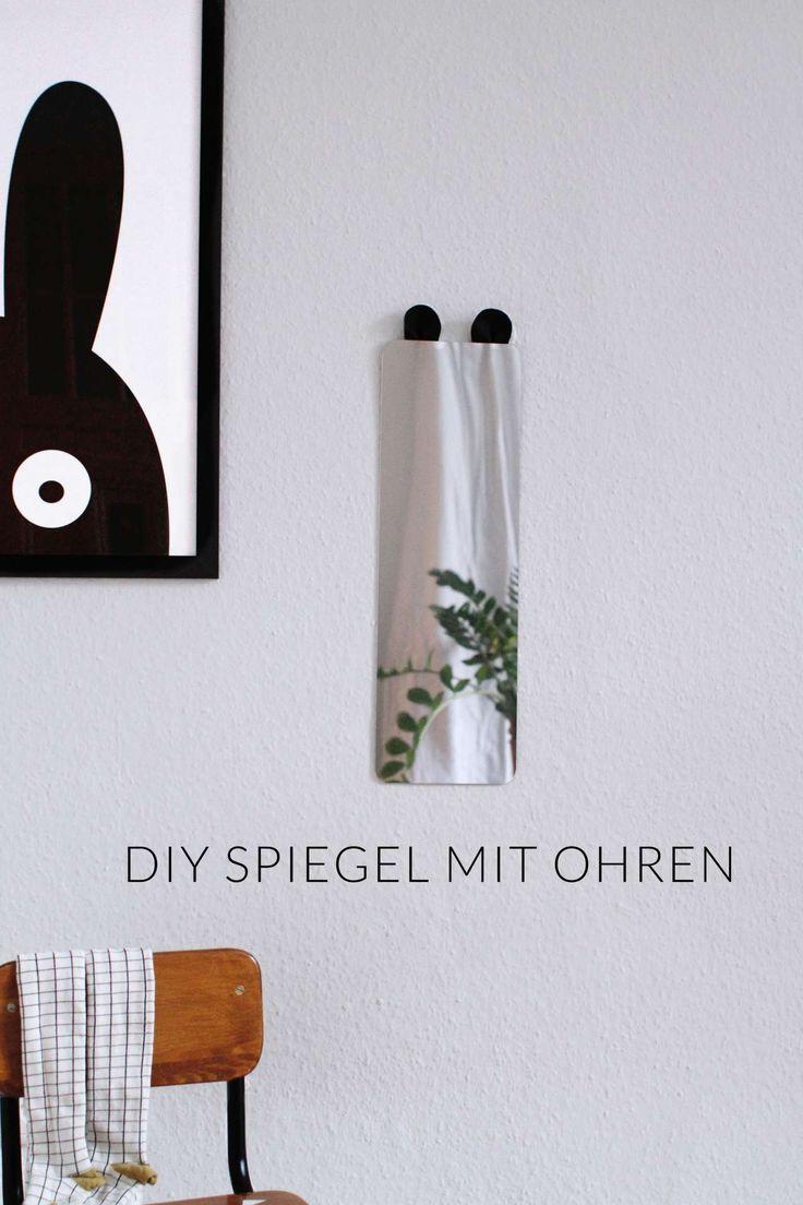 Unique IKEA Hack Kinderzimmerspiegel mit Ohren