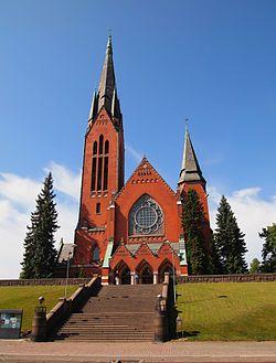 Mikaelinkirkko (Turku) St Michael's Church Lars Sonck