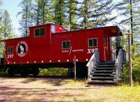 Glacier National Park Lodging - Cabins and Caboose Units - Izaak Walton Inn