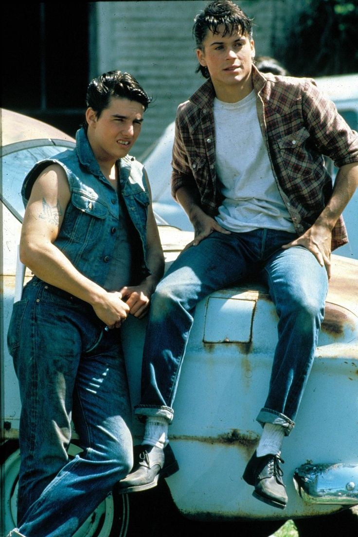 Francis Ford Coppola's cult classic [i]The Outsiders[/i] perpetuated the denim obsession of the Eighties. Whilst its stars are less musical teens and more tough and disillusioned youth, they are also distinctly denim in their sartorial decisions.