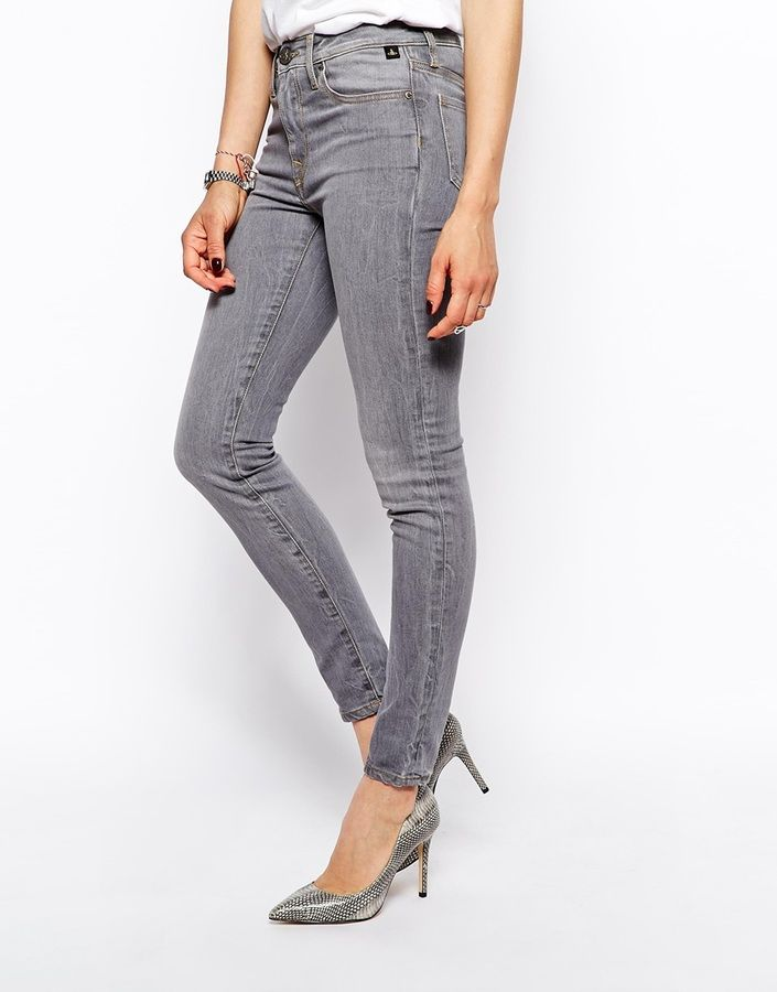 Vivienne Westwood Anglomania Jeans Skinny Jeans With Vintage Wash