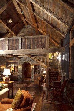 Home design inspiring country homes with wooden balcony country - 454 Best Images About Lodge Style Great Rooms On Pinterest