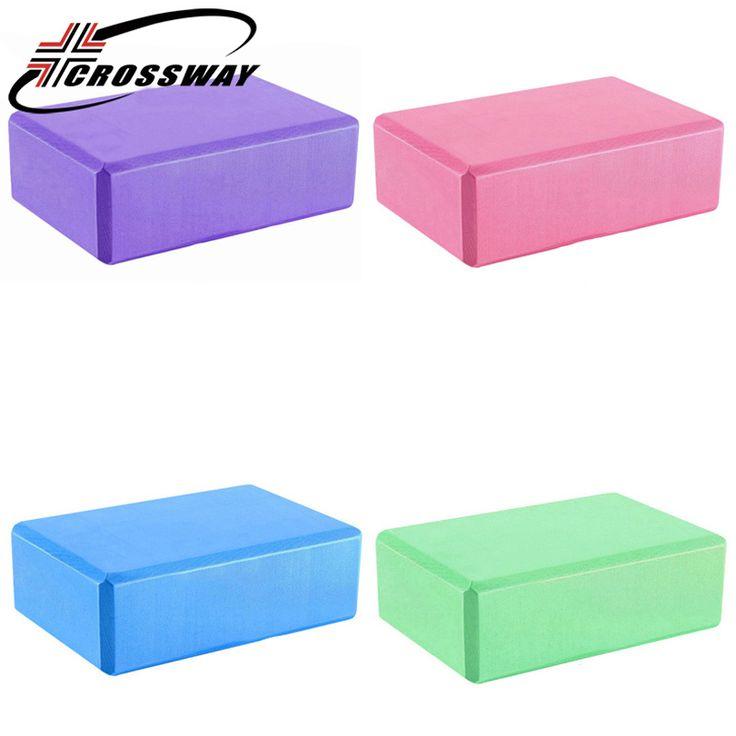 <Click Image to Buy> CROSSWAY Yoga Block Antiskid Waterproof Durable Brick High Density EVA Purple Ring FitnessBubble Brick For Adult Woman **