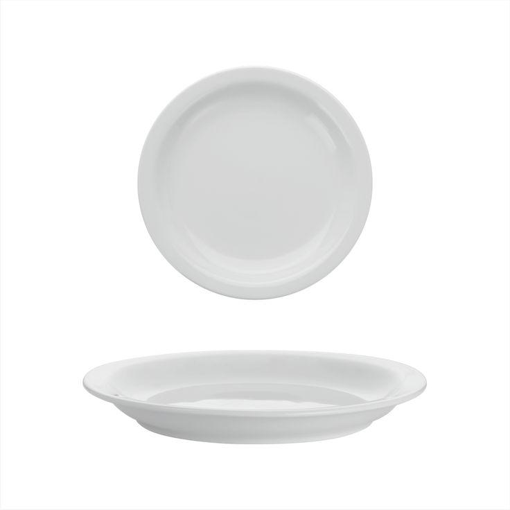 Small Rim Plate – Mokka | Ariane Fine Porcelain