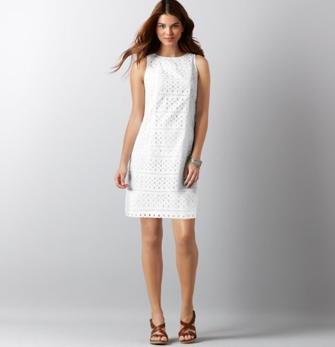 1000  images about white eyelet on Pinterest - Brown belt- Rompers ...