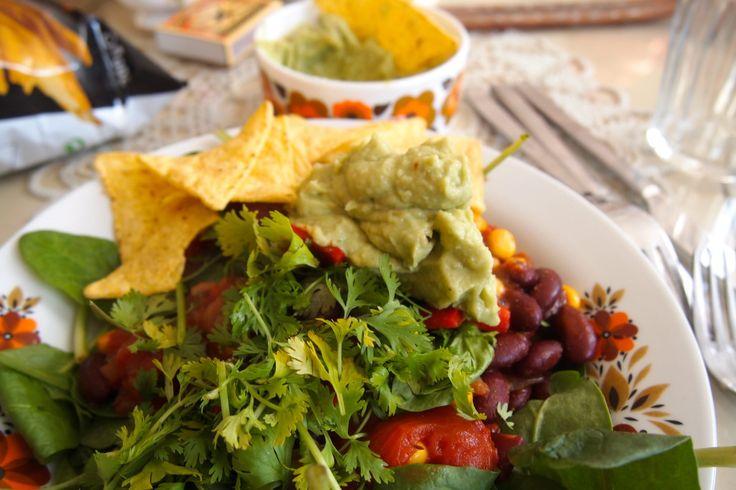 De Groene Meisjes // Tophit! Mexicaanse chili sin care met guacemole