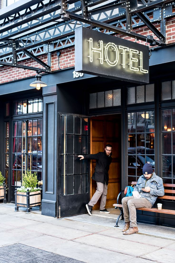 Modern and chic boutique hotel the ludlow in the lower east side new york http