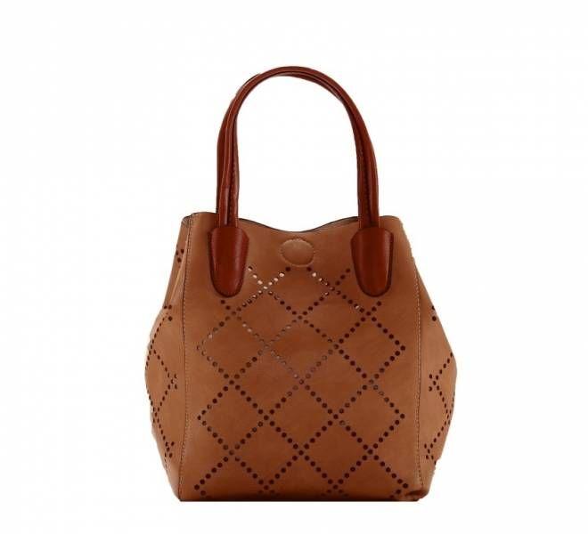 Louenhide handbag Baby Bermuda in chestnut.