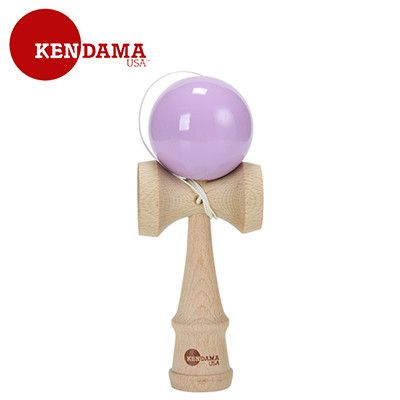 Kendama USA Tribute Kendama Lavender Ball TRB004