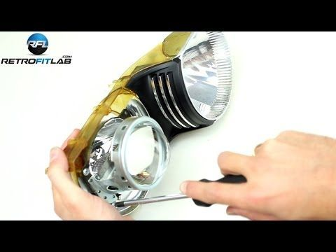 http://www.strictlyforeign.biz/default.asp BMW 3 E46 ZKW xenon projector headlight repair kit installation