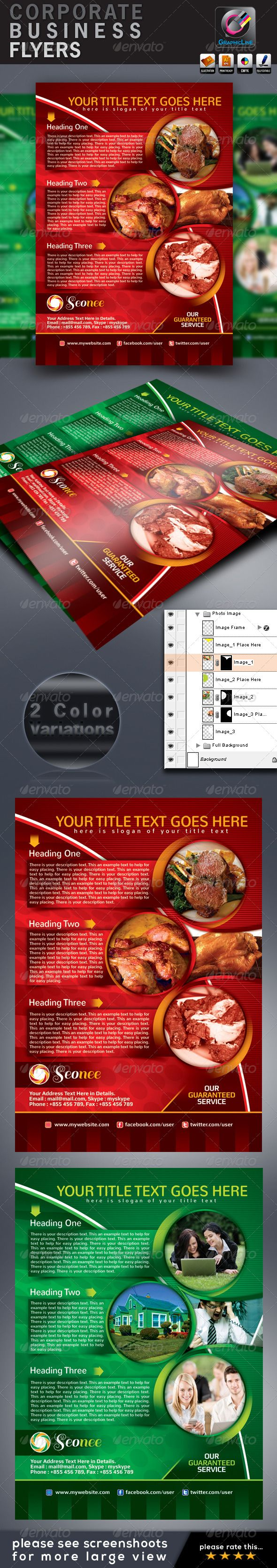 Color printing bu - Seonee_corporate Business Flyers Adds