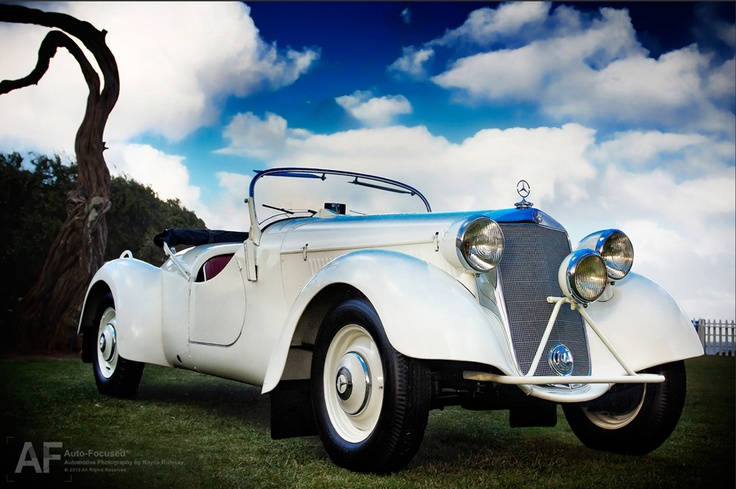 1938 230S Special Roadster (W153) (MB Classic Center Fellbach Restauration). Photo: Royce Rumsey/Auto Focused