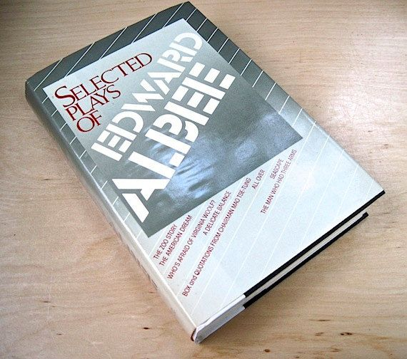 Selected Plays of Edward Albee 1987  by ProsperosBookshelf on Etsy https://www.etsy.com/listing/166677089