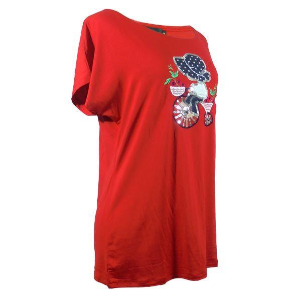 Camiseta manga corta mujer bicicleta bordada. https://www.lutasha.es/p3155942-camiseta-manga-corta-roja-bicicleta.html 📧Suscribete a nuestra newsletter para conseguir un dto. en tu 1ª compra: http://eepurl.com/cg3iQj https://youtu.be/XXnnn9PLeE4 #camiseta #camisetabordada #tiendaonline #comprar #compraonline #tiendaonline #moda #modamujer #tendencias