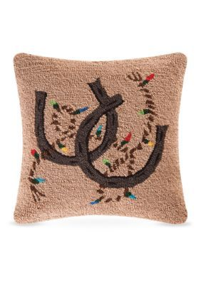 C&F Holiday Rodeo Decorative Pillow - Mult - 18 X 18