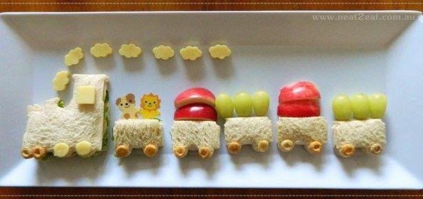 Train party food idea