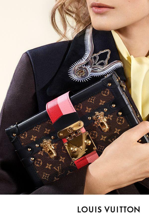 Inspiré des bagages personnalisés qui ont fait la renommée de la Maison Louis…