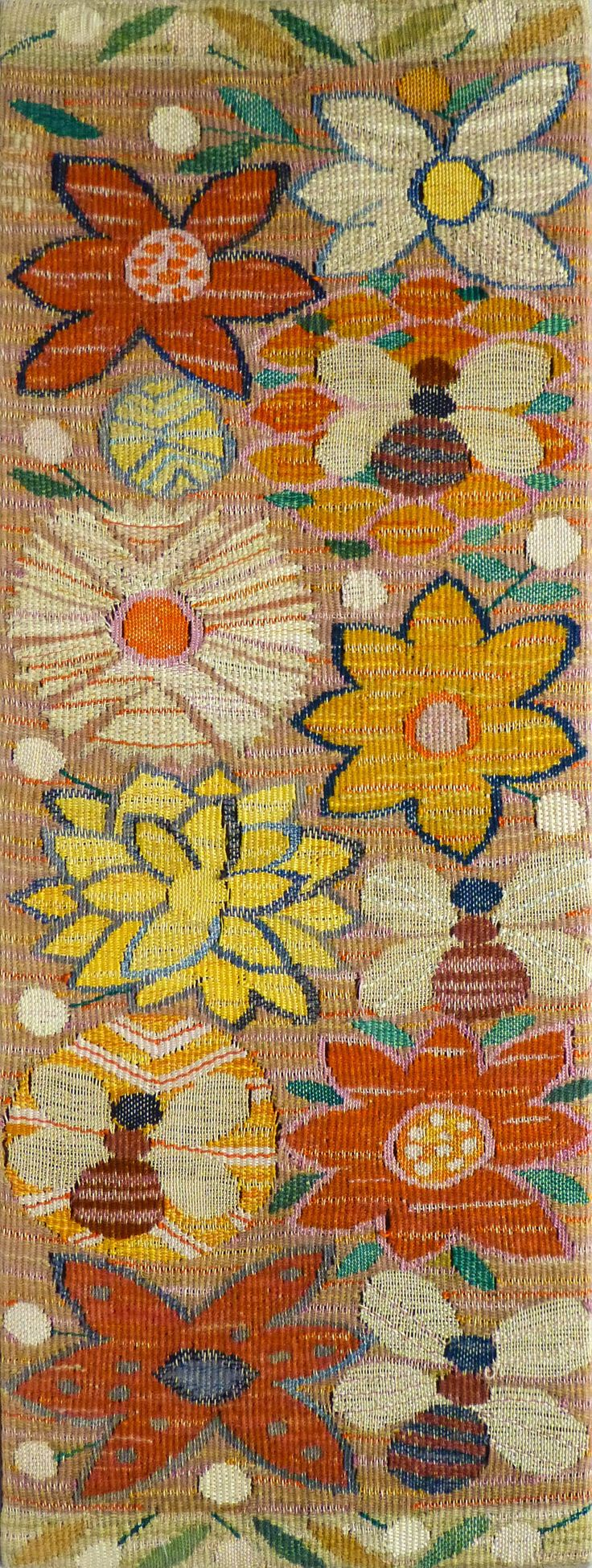 Bee & Butterfly Weaving | From a unique collection of more art at https://www.1stdibs.com/art/more-art/