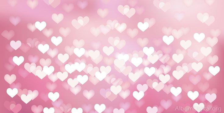 Fondo comunión para álbum maxi corazones