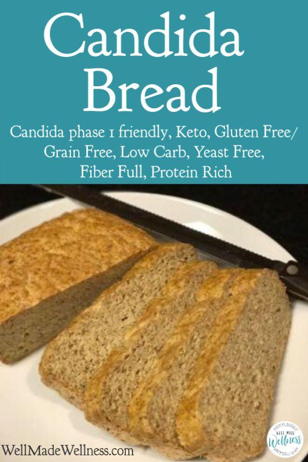 candida diet bread recipe