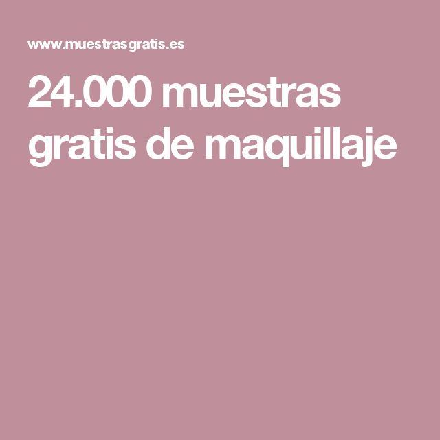 24.000 muestras gratis de maquillaje