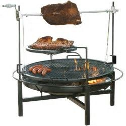 Image result for Cowboy Grill Fire Pit Rotisserie