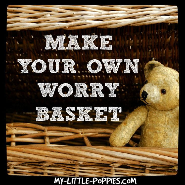 Parents, do you have a little kid at home with big worries? Calm your child's anxiety with this DIY worry basket, and get some sleep moms and dads!