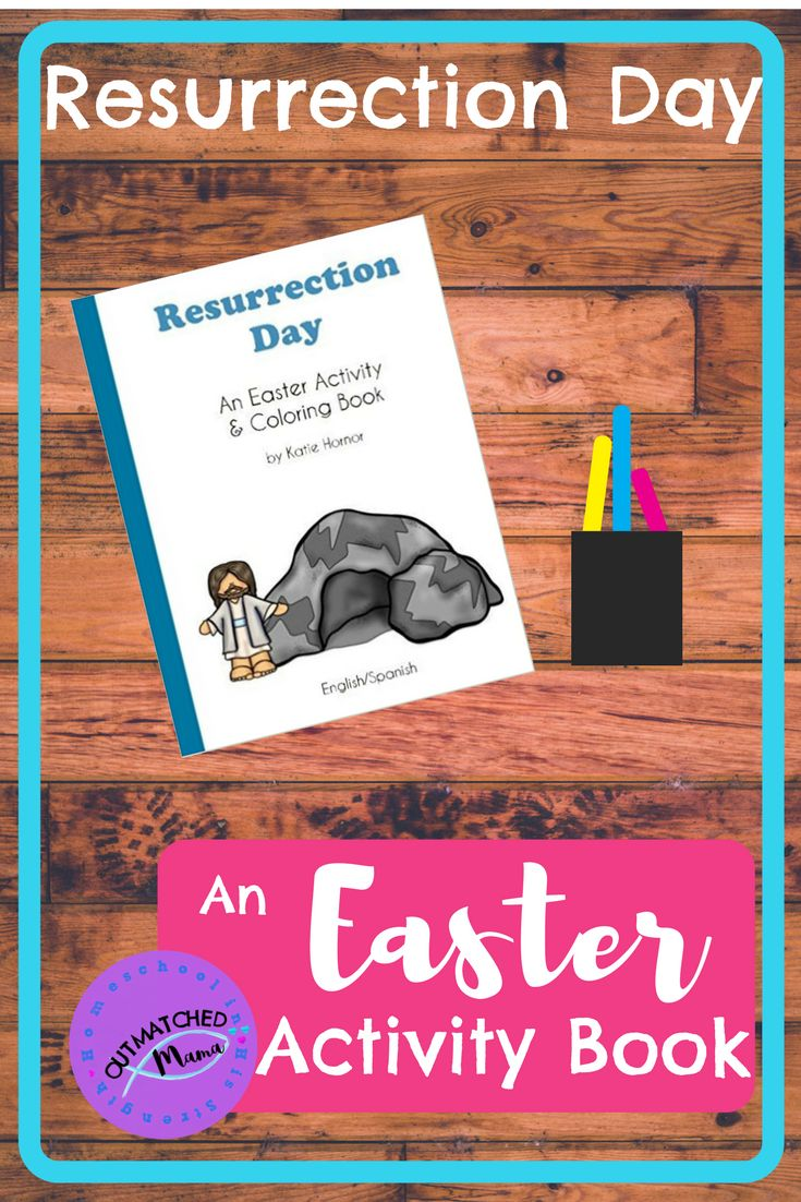 Resurrection Day: An Easter Activity Book Curriculum Review   Homeschool Curriculum Review   Easter Activities   Resurrection Day activities   Passover activities   Holiday workbook