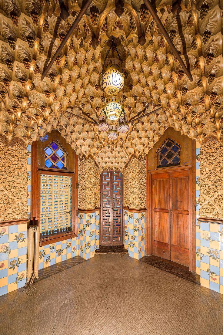 Gallery of Gaudí's First-Ever House to Open as a Museum Following Major Restoration - Sala de fumadores - AD España, © Pol Viladoms / Casa Vicens