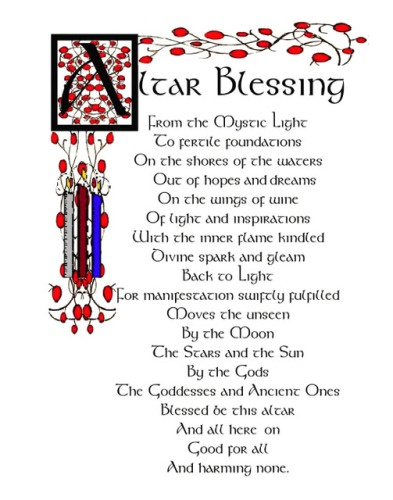 Altar BlessingWitchy, Altars Blessed, Wiccan, Book, Spelling, Pagan, Altered Blessed, Forest, Shadows