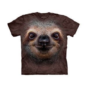 Sloth Face  T-Shirt, 19€, now featured on Fab.