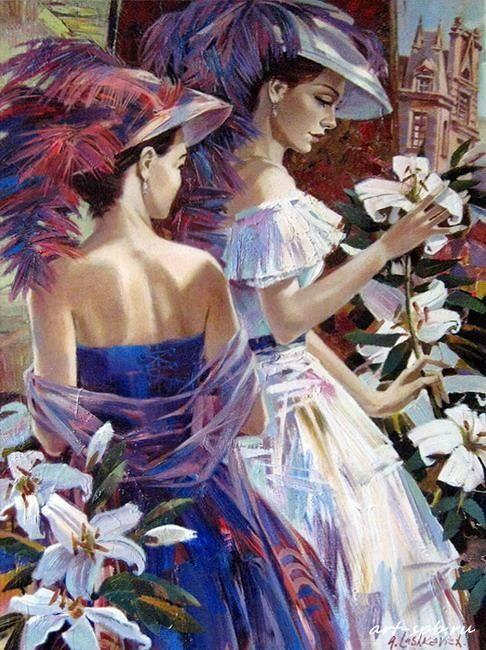 Alex Lashkevich /Алексей Лашкевич, 1964 | Neo-Impressionist painter | Tutt'Art@ | Pittura • Scultura • Poesia • Musica