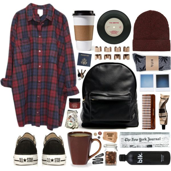 A fashion look from December 2013 featuring Monki tops, HUF socks and Converse sneakers. Browse and shop related looks.
