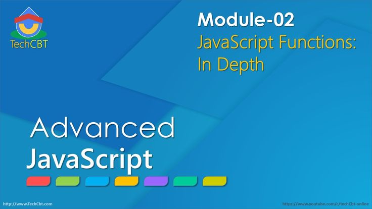 Advanced JavaScript - Module 02 - Part 01 - Functions, Anonymous, FE, II...