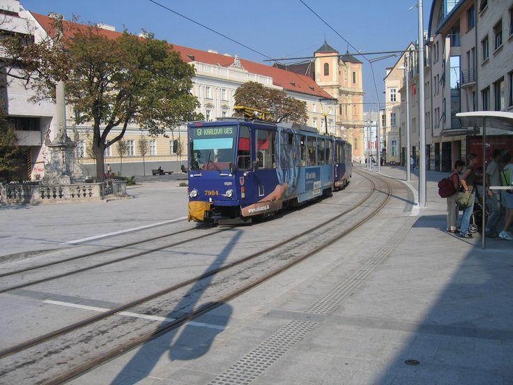 Tram in Bratislava