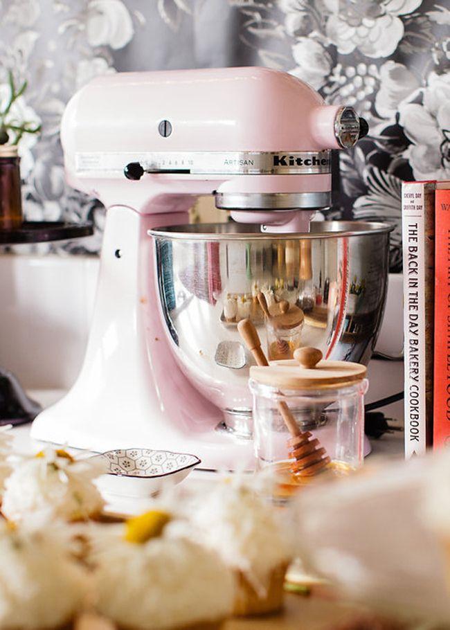 blush kitchenaid