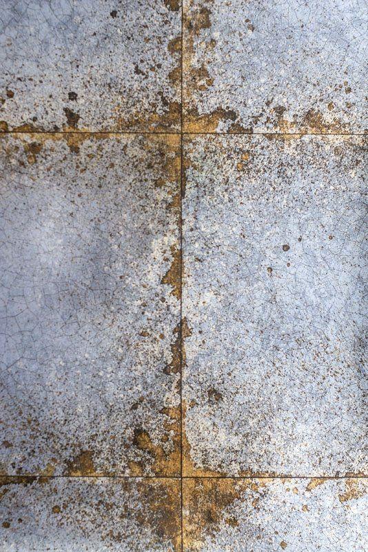 Lustre Tile Wallpaper Metallic Sapphire And Gold Tile Wall