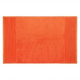 Tangerine Egyptian Cotton Bath Mat | Orange Bath Mat | Colours for Autumn | ColourPuff.com