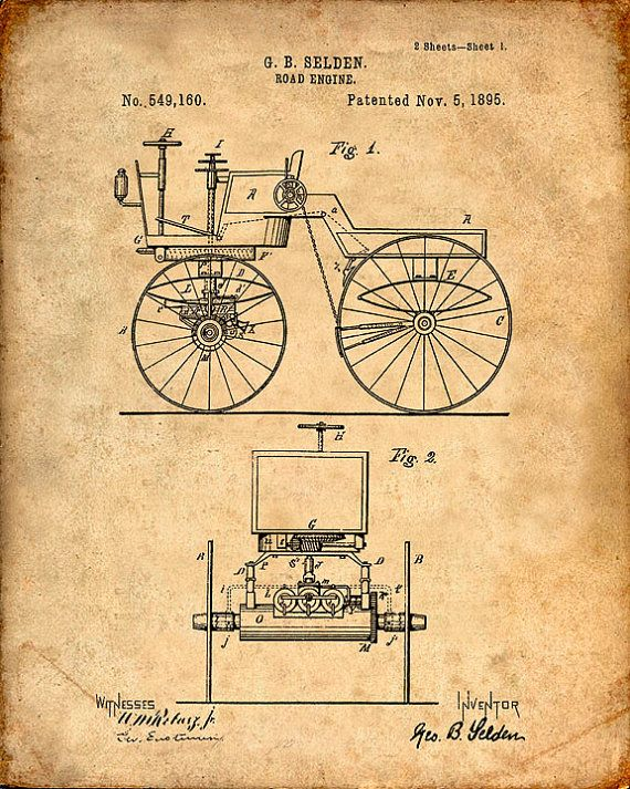 Hey, I found this really awesome Etsy listing at https://www.etsy.com/listing/199187255/patent-print-of-a-road-engine-patent-art