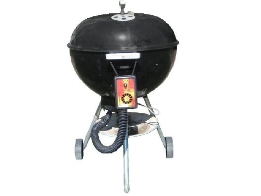 how to turn charcoal grill off